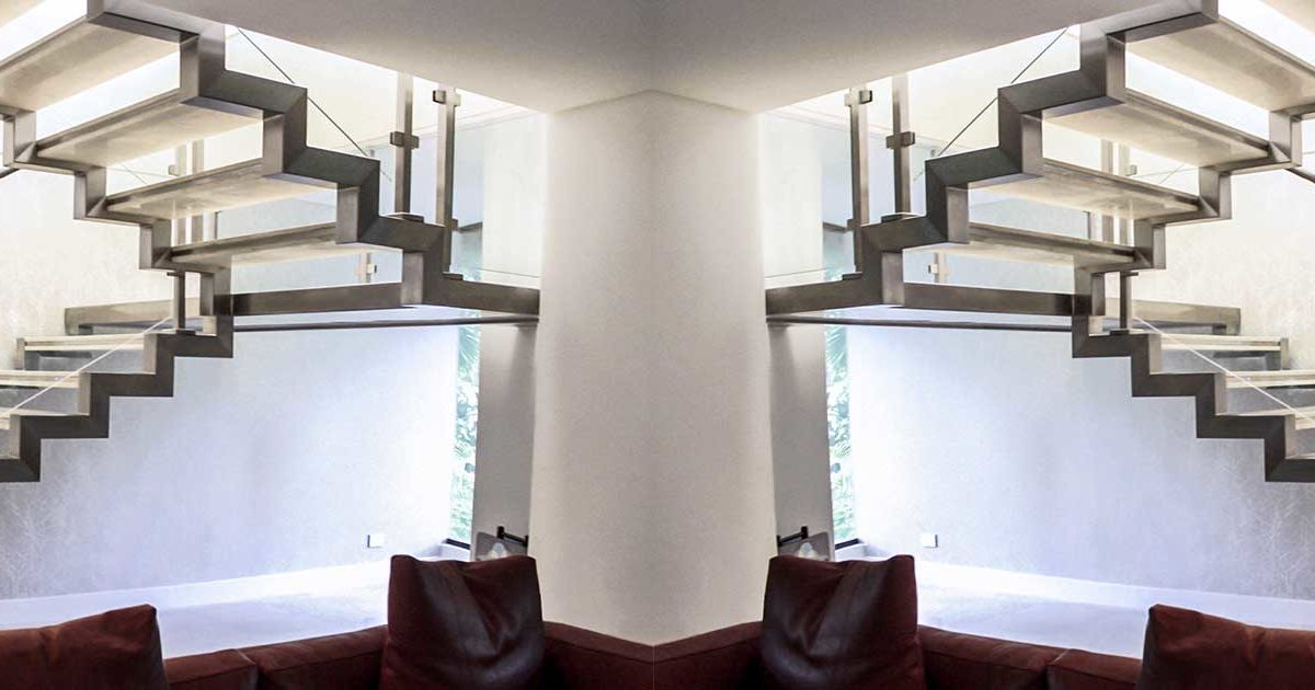 artículo para conocer las partes básicas de una escalera