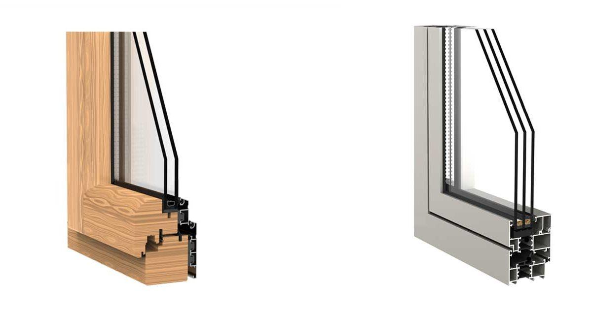 artículo sobre los distintos tipos de perfiles de ventana